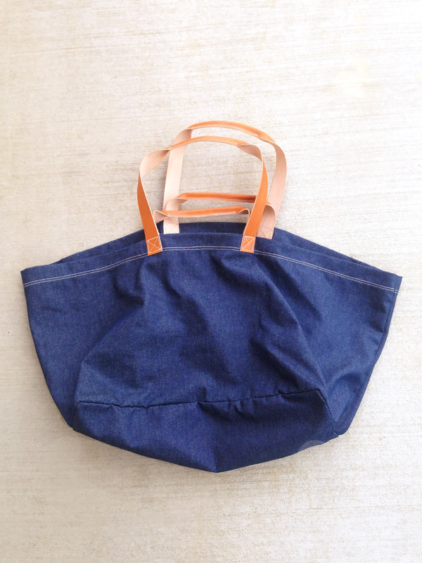 Agnes Baddoo Denim Market bag