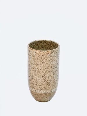 VM brown speck vase
