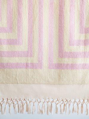 mr.merz pink towel 1